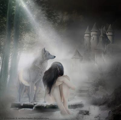 La sombra de la mujer salvaje