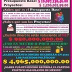 Sobre el recorte presupuestario a @INEMexico y la danza de los millones de la austeridad republicana