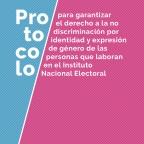 Garantiza @INEMexico respeto a la diversidad y los derechos de todas las personas, con independencia de su género
