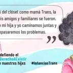 [Campaña] Soy Mamá Trans y defiendo el #DerechoAExistir de nuestros hijxs #InfanciasTrans