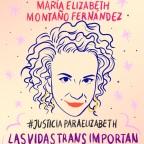 #Mexico #JusticiaParaElizabeth #DescansaEnPoder María Elizabeth Montaño Fernández #MemoriayDignidad