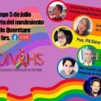 """[Video]  (05/Julio/2020) """"Historia del movimiento LGBT en Querétaro"""" con @COIVIHSQRO @QuereTrans Colectivo Mähui SJR @UAQmx y Círculo de Diversidades Sociales y Fraternidad Gay"""
