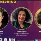 """[Video] Conversatorio """"Pandemias, Democracias y Feminismos"""" organizado por la @udechile con Judith Butler, @ZeranFaride y @emischneiderv"""